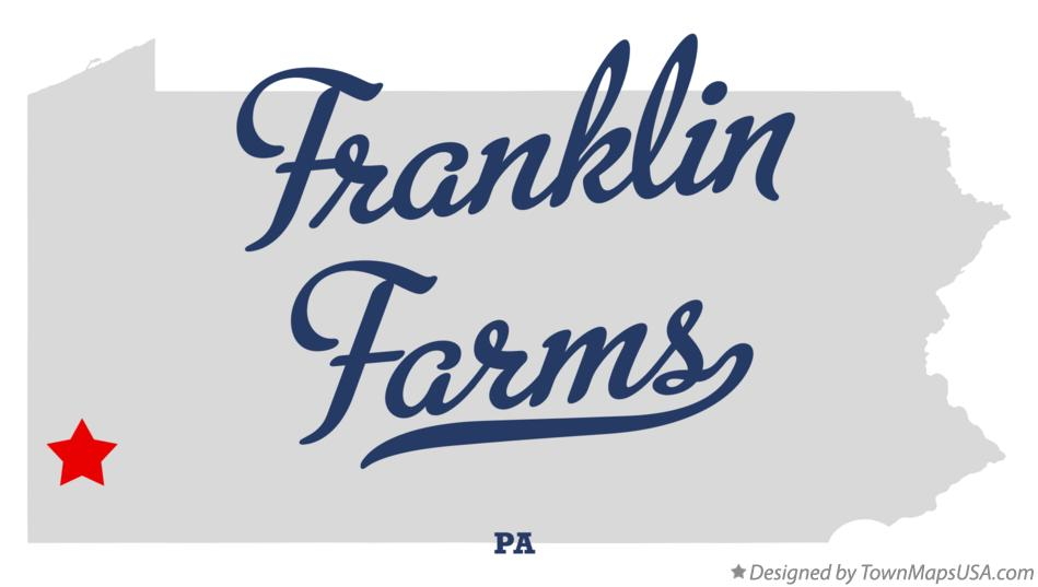 Map of Franklin Farms Pennsylvania PA