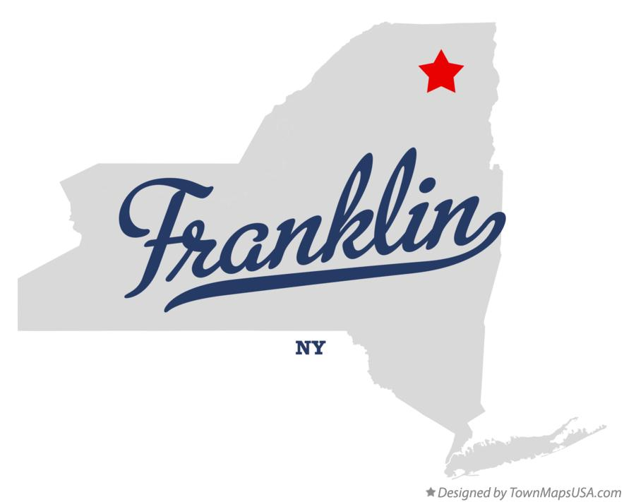 Map of Franklin New York NY