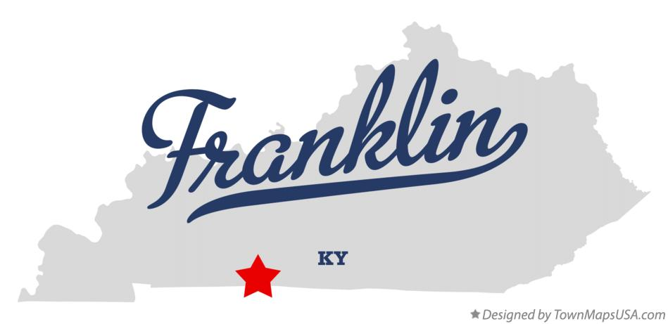 Franklin (KY) United States  city photos : Map of Franklin, KY, Kentucky