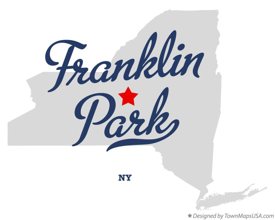 Map of Franklin Park New York NY