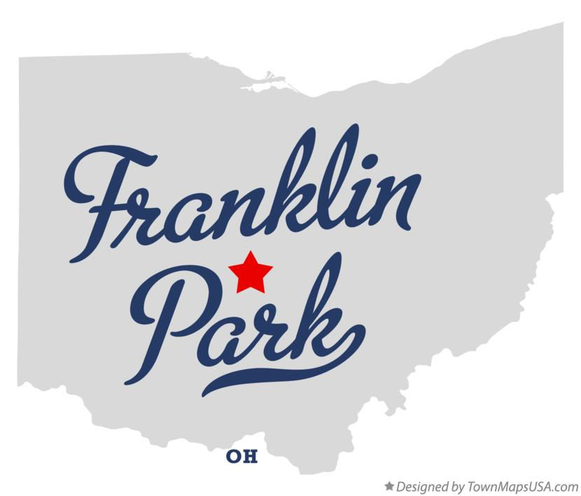 Map of Franklin Park Ohio OH