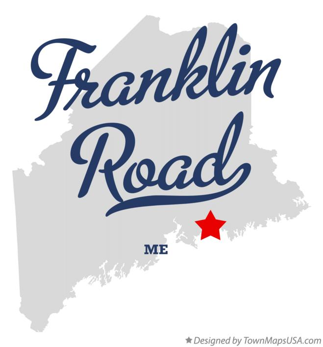 Map of Franklin Road Maine ME