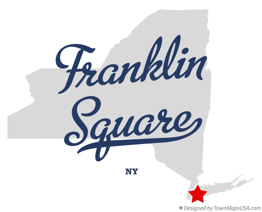 Map of Franklin Square New York NY