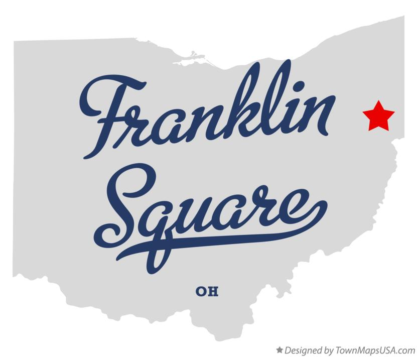 Map of Franklin Square Ohio OH