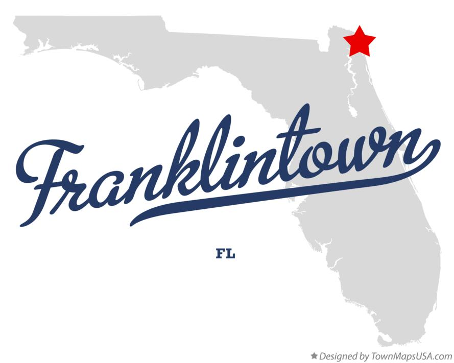 Map of Franklintown Florida FL