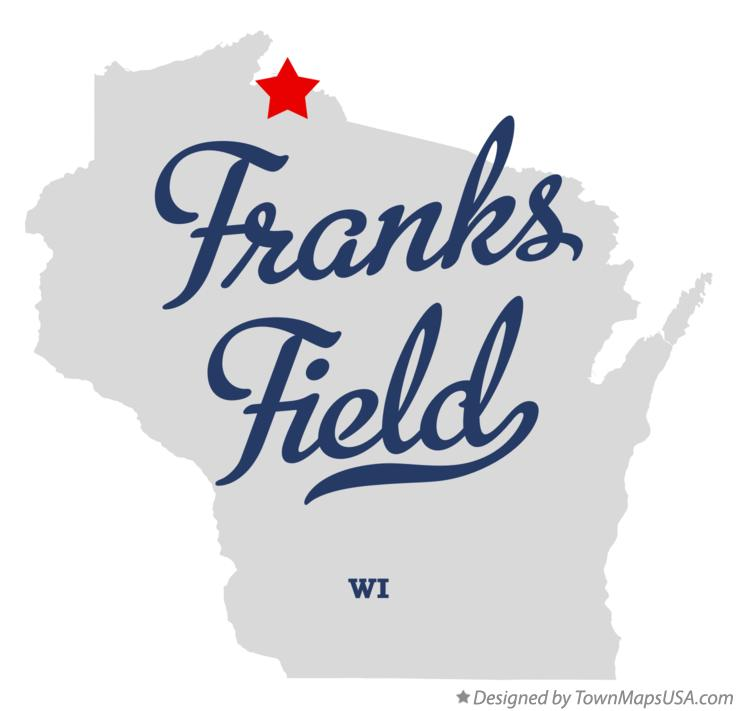 Map of Franks Field Wisconsin WI