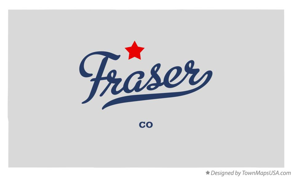 Map of Fraser Colorado CO