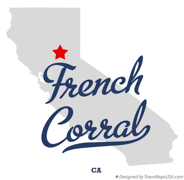 Map of French Corral California CA