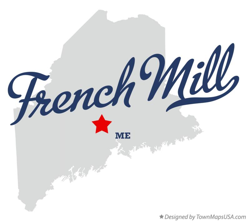 Map of French Mill Maine ME
