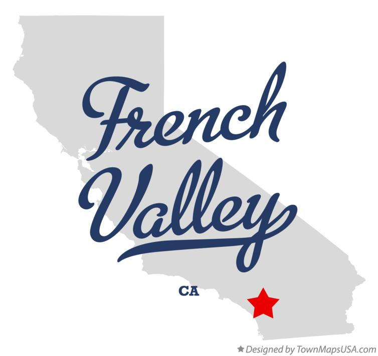 Map of French Valley California CA