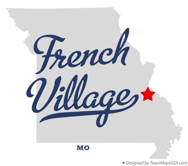 Map of French Village Missouri MO