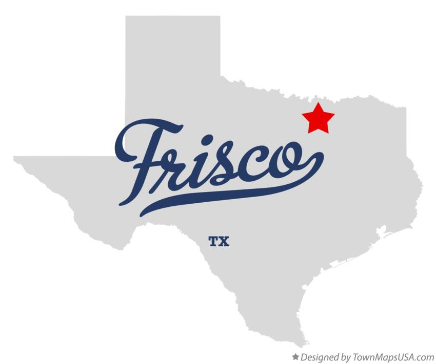 Where Is Frisco Texas On A Map
