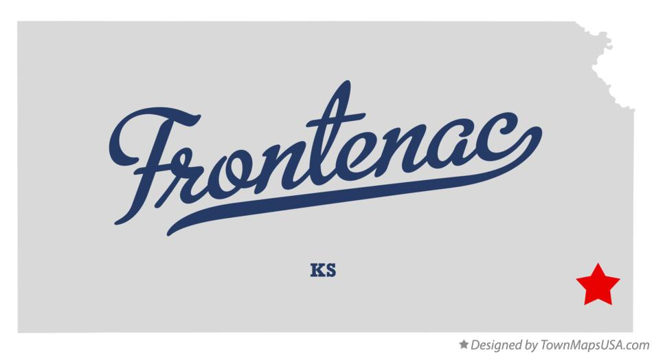 Map of Frontenac Kansas KS
