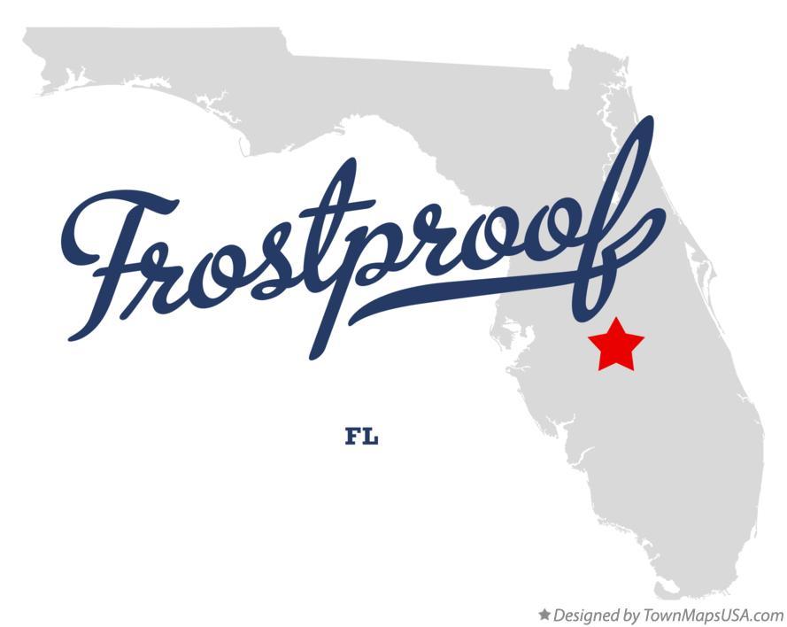 Frostproof Florida Map.Map Of Frostproof Fl Florida