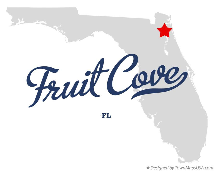 Map of Fruit Cove Florida FL