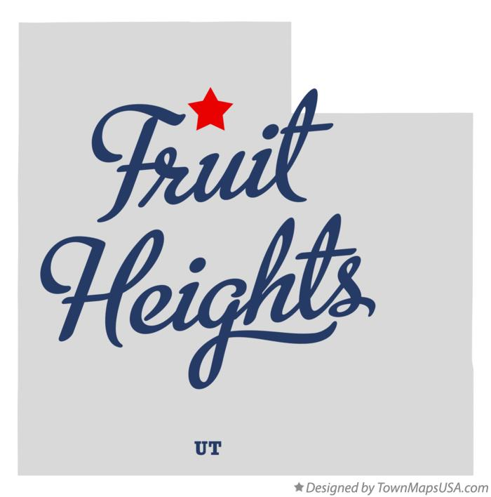 Map of Fruit Heights Utah UT