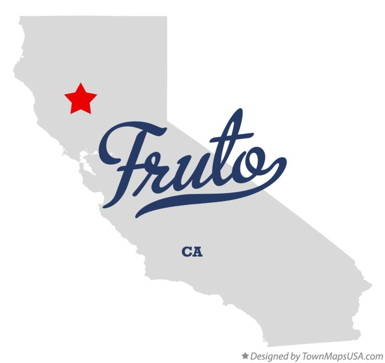 Map of Fruto California CA