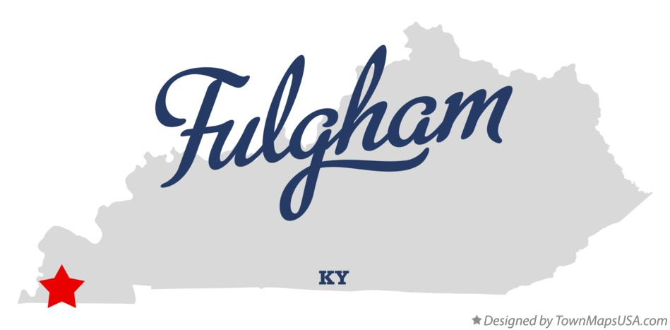 Map of Fulgham Kentucky KY