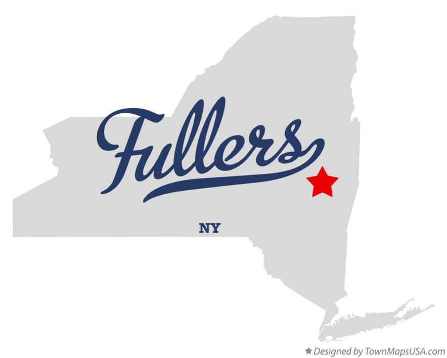 Map of Fullers New York NY