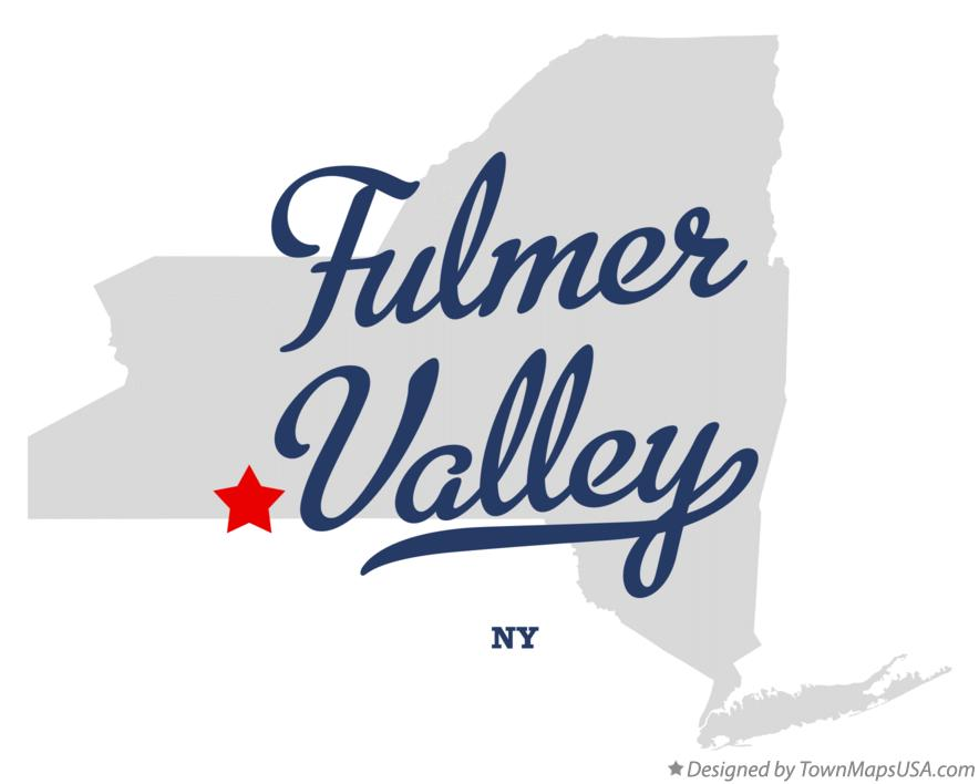 Map of Fulmer Valley New York NY