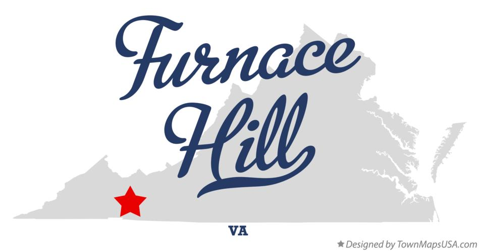 Map of Furnace Hill Virginia VA
