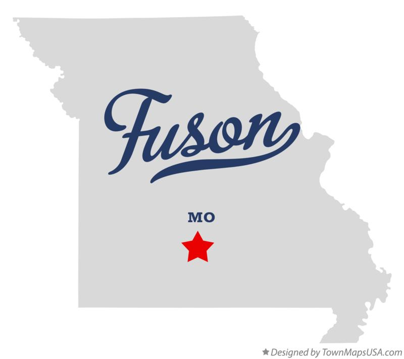 Map of Fuson Missouri MO