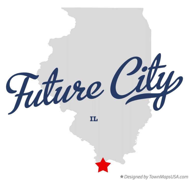 Map of Future City Illinois IL