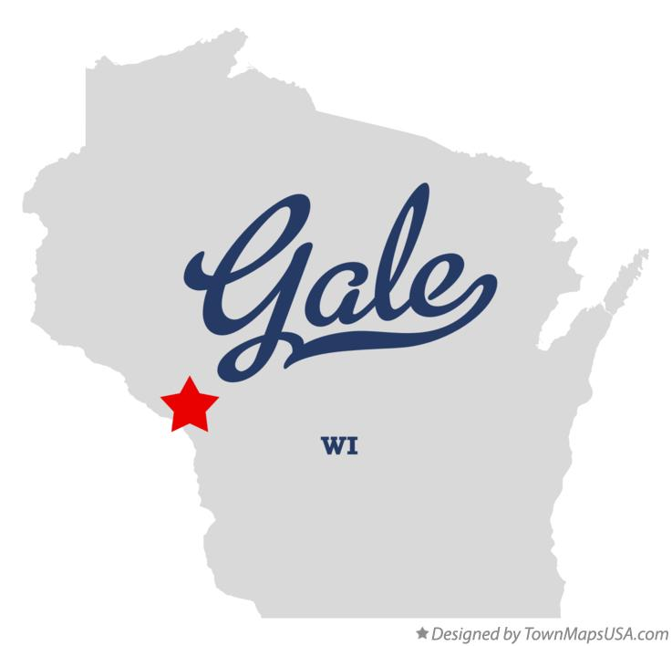 Map of Gale Wisconsin WI