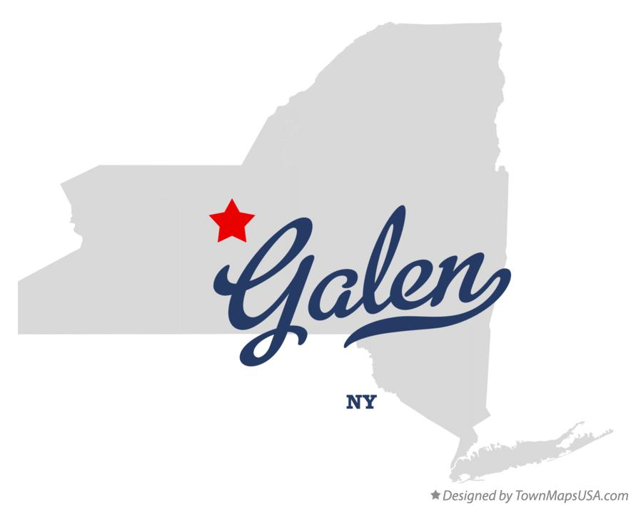 Map of Galen New York NY