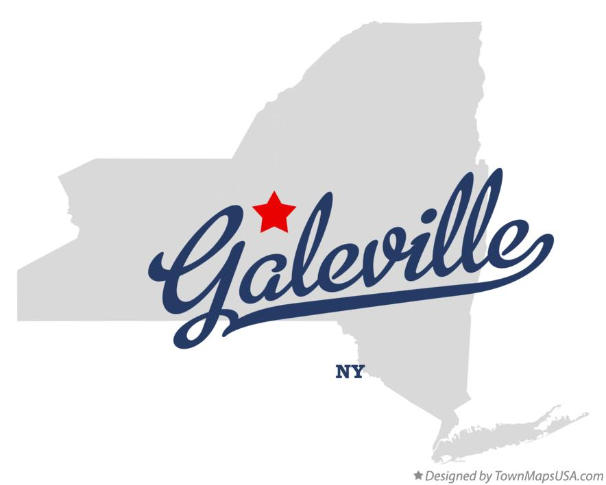 Map of Galeville New York NY