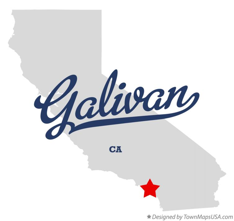 Map of Galivan California CA
