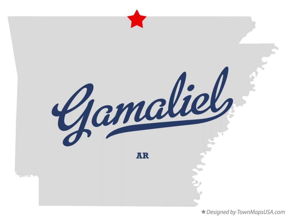 Map of Gamaliel Arkansas AR