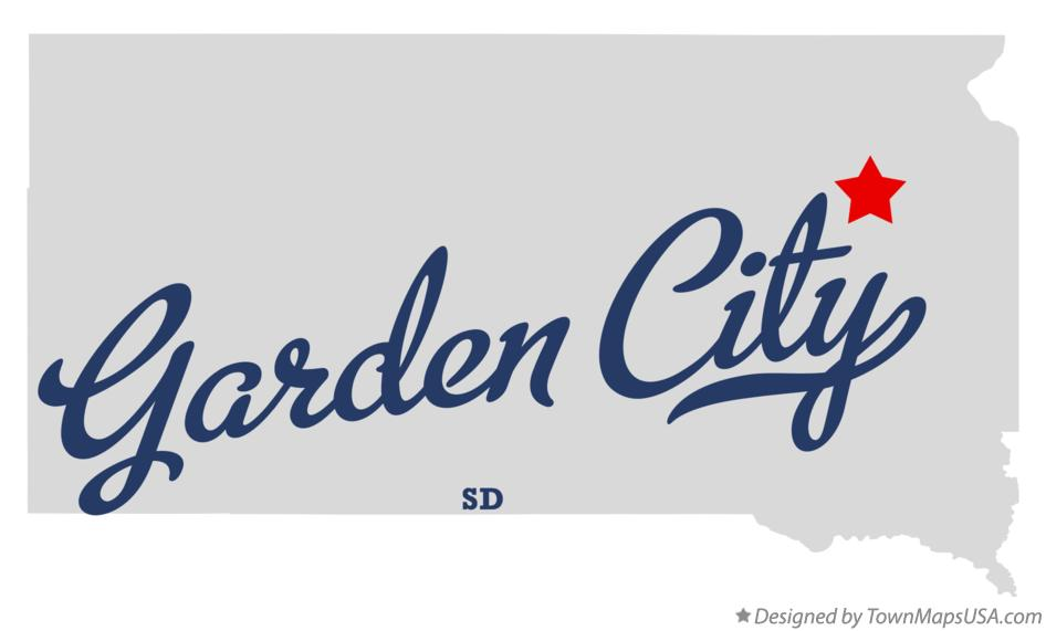 Map of Garden City South Dakota SD