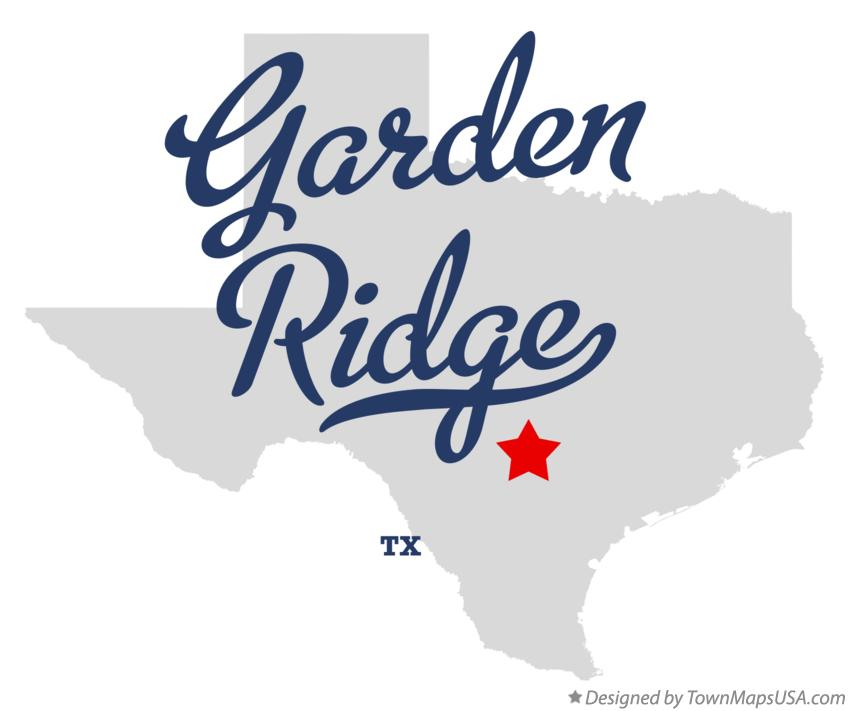 Map of Garden Ridge Texas TX