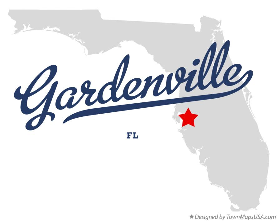 Map of Gardenville Florida FL