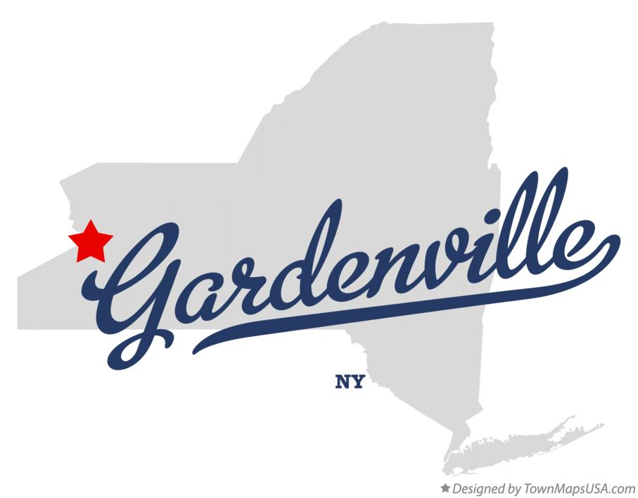 Map of Gardenville New York NY