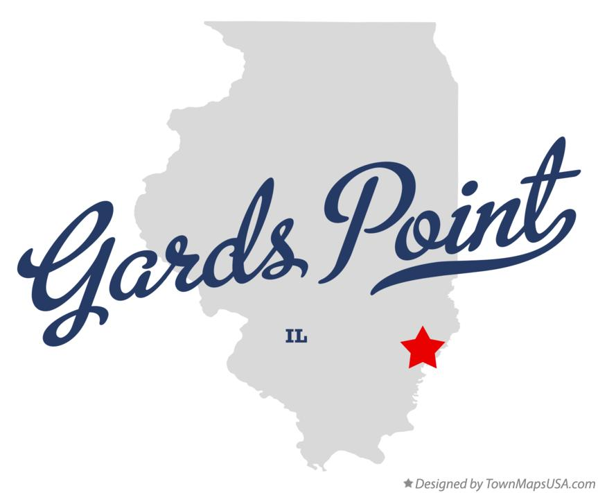 Map of Gards Point Illinois IL
