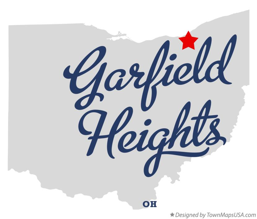 Map of Garfield Heights Ohio OH