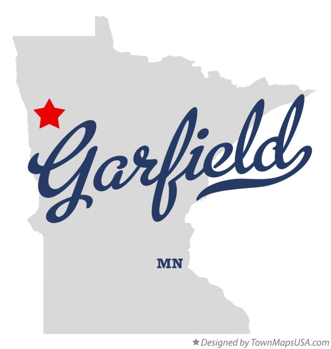 Map of Garfield Minnesota MN