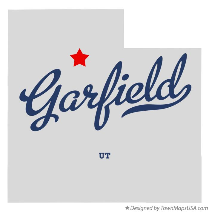 Map of Garfield Utah UT