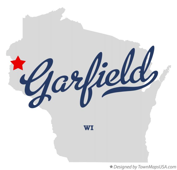 Map of Garfield Wisconsin WI