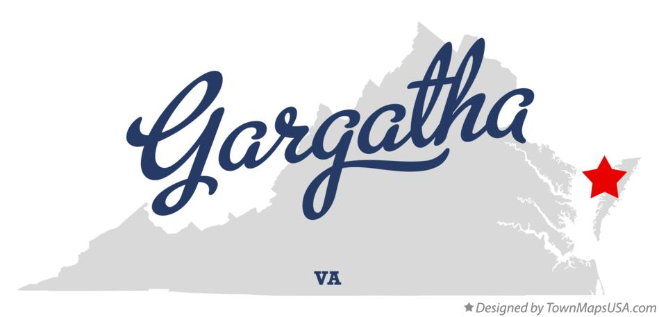 Map of Gargatha Virginia VA