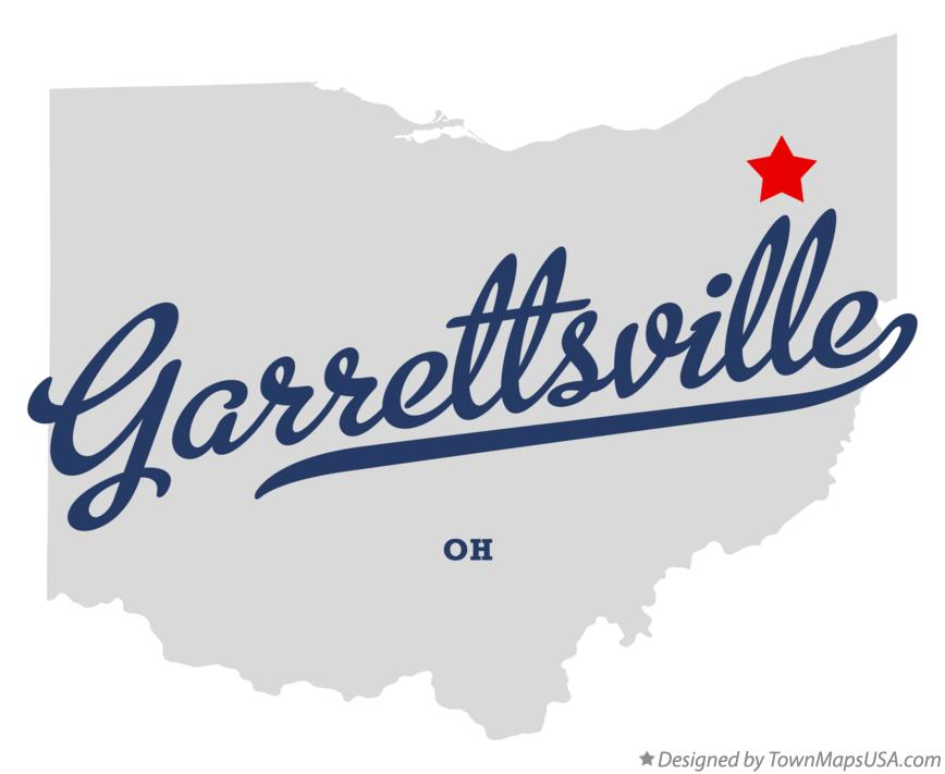 Map of Garrettsville Ohio OH