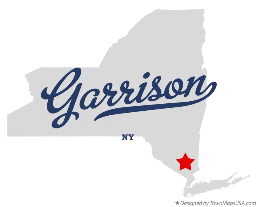 Map of Garrison New York NY
