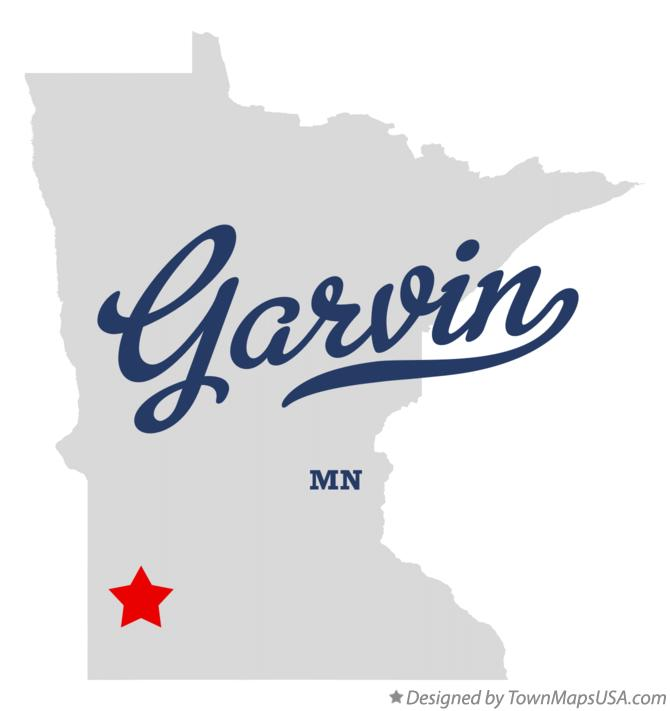 Map of Garvin Minnesota MN