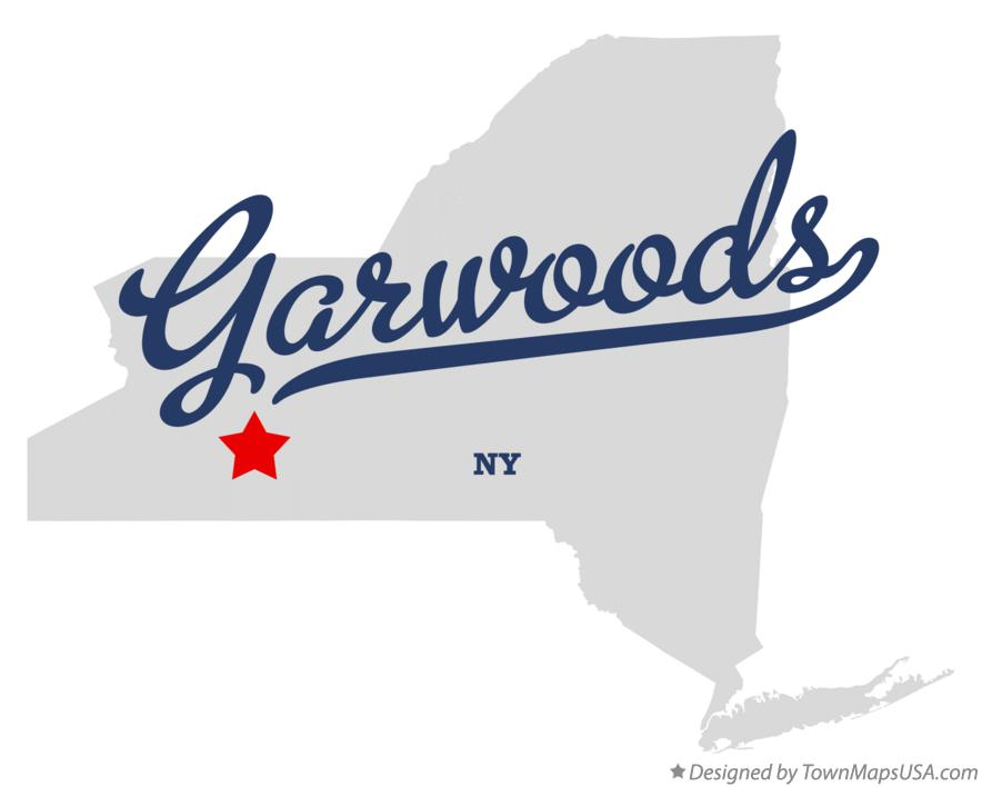 Map of Garwoods New York NY