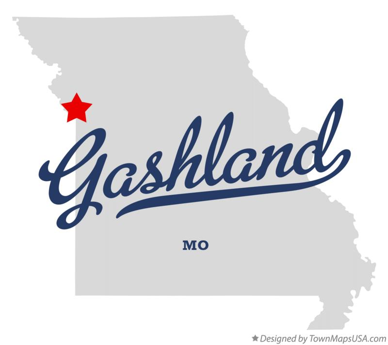 Map of Gashland Missouri MO