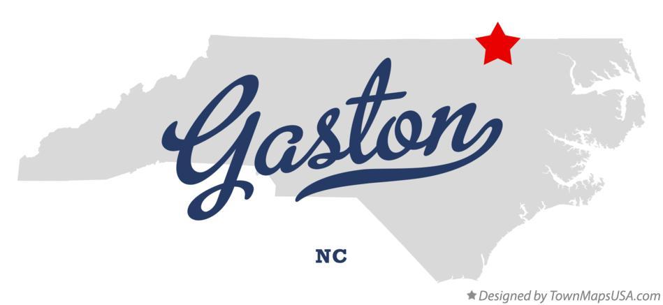 Gaston Nc Map.Map Of Gaston Nc North Carolina