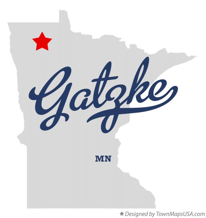 Map of Gatzke Minnesota MN