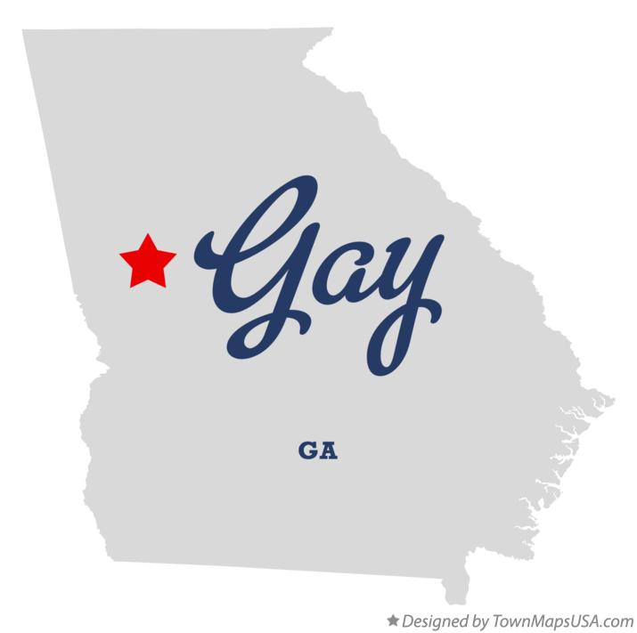 Map Of Gay Ga Georgia